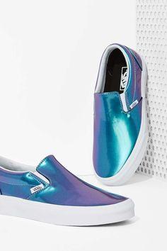 Vans Classic Slip-On Sneaker - Iridescent