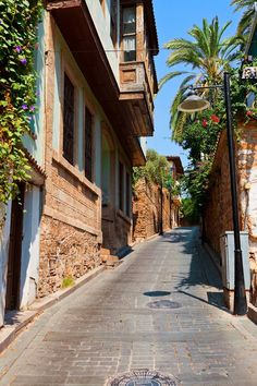 Antalya-Kaleiçi Places Around The World, Around The Worlds, Places To Travel, Places To Visit, Republic Of Turkey, Bright Side Of Life, Antalya, Mediterranean Sea, Istanbul Turkey