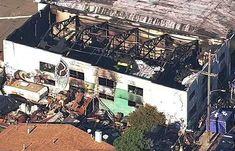 Diagrams and photographs showing the interior of the building illustrate some of the factors that made the fire so deadly.
