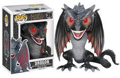 "Drogon 6"" Super-Sized Pop! Vinyl Figure"
