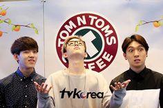 "dowoon, weirdos jae, and MemeJin ""TVKorea Channel"""