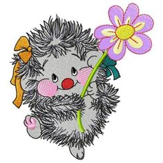 """Hedgehog with a flower- free embroidery design Stitches: 31560 Size: 128.8 x 139.8 mm (5.07 x 5.50 """") Edit Start needle: 1 Colors: 13/13 , Stops: 12 Machine embroidery formats: hus, m1, new, vip, pes Download: If you enjoyed this article, subscribe to receive more just like it Enter your email address:Delivered by […] Machine Embroidery Quilts, Free Machine Embroidery Designs, Hand Embroidery Patterns, Flower Embroidery Designs, Embroidery Hoop Art, Quilting Designs, Textile Art, Hedgehog, Pattern Design"""