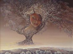 Mother Nature by Josephine Wall