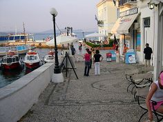 Spetses, Greece - a beautiful little island with real original charm. Most Beautiful, Beautiful Places, Greek Beauty, Little Island, Greece Travel, Greek Islands, Fishing Boats, Athens, Places Ive Been