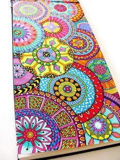 Zentangle patterns & ideas dibujos a color mandala tekenen, Doodles Zentangles, Zentangle Patterns, Easy Zentangle, Doodle Drawings, Doodle Art, Doodle Ideas, Zentangle Drawings, Mandala Design, Paisley Design