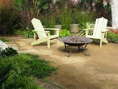 backyards with decomposed granite and raised beds - Google Search