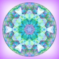 Healing Mandala Loved and Pinned by www.downdogboutique.com to our Yoga community boards