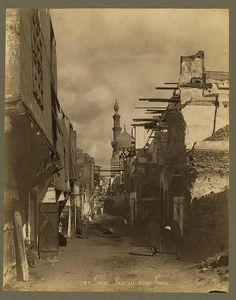 Cairo, The Middle East by Félix Bonfils 1860s-1880s