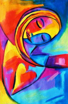 Mujer… by Marie Aschehoug-Clauteaux Art Pastel, Arte Pop, Art Moderne, Love Art, Painting Inspiration, Painting & Drawing, Amazing Art, Art Drawings, Abstract Art