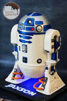 R2D2 cake R2d2 Cake, Star Wars Cake, Star Wars Wedding, Texas, Parties, Weddings, Stars, Fiestas, Wedding