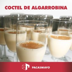 Cóctel de Algarrobina
