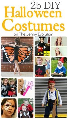 25 DIY Halloween Costumes for Kids You Can Actually Make | The Jenny Evolution