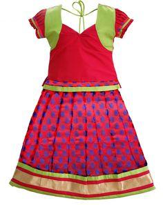3a978e787b #kidspattu pavadai#readymade pattu pavadai#pattu pavadai in coimbatore Kids  Wear Online,