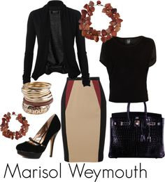 Business Spunk, created by marisolweymouth on Polyvore