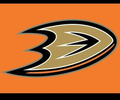 Find the team colors of your favorite sports teams! Ducks Hockey, Duck Logo, Nhl Logos, Stanley Cup Playoffs, Anaheim Ducks, Painted Rocks, Color, Rock Painting, Crochet Projects