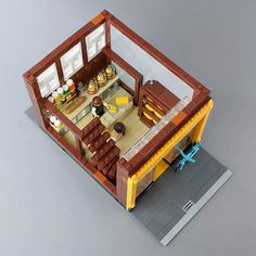 LEGO Modular Building: Cheese Shop And Museum | This is my 7… | Flickr
