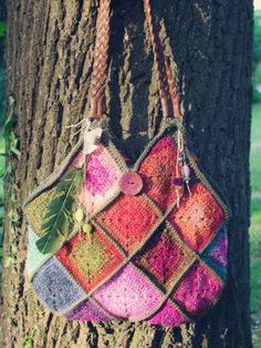 Noro bag by A Creative Being - love it so!!