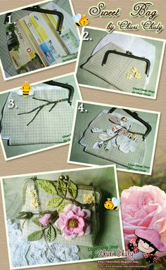 Sweet Rose  Sweet Bag  by Churi Chuly