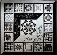 Neutral Sampler, 82 x82, by Terry Whyte at Today in Kenogami