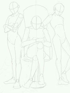 Drawing People Standing Pose Reference 42 Ideas For 2019 Drawing Base, Figure Drawing, Drawing Body Poses, Male Drawing, Anatomy Drawing, Woman Drawing, Drawing Templates, Poses References, Drawing Reference Poses