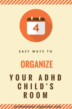 organize your adhd child