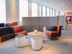 Allsteel NeoCon 2014 Showroom Suite #1120, Merchandise Mart, Chicago. Choose how you work at #NeoCon14! Gather Collaborative Collection, Rise seating, Hedge, Belong table, Linger chair, Scooch seating, Further power Hub, Beyond Movable Walls
