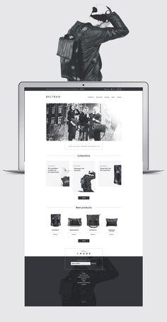 Beltbag Website on Behance