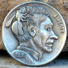 "CHRIS ""DECHRISTO"" DEFLORENTIS HOBO NICKEL - BUG OFF! - 1936 BUFFALO NICKEL"