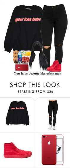 """6-7-17"" by asilversmile ❤ liked on Polyvore featuring Vans"