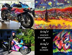 Retrospective of DUAIV's Bikes: the DucatiSuperleggera & the BMW K1300S