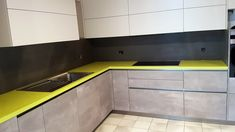 Grand Format, Kitchen Cabinets, Home Decor, Countertop, Kitchen Modern, Decoration Home, Room Decor, Cabinets, Home Interior Design