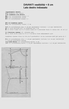 I Quaderni di Studio Manie: REGOLE PER LA COSTRUZIONE ABITO CORPETTO BASE CON BASCHINA DONNA