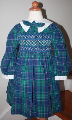 Polly Flinder's Hand Smocked Dress