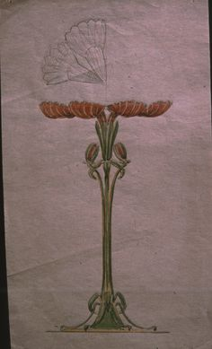 Gustav Gaudernack design of silver gilt decorative vase with plique-a-jour enamel. 1908-1910. Similar vase exhibited by David Andersen at World Exhibition in St. Louis 1904.
