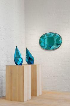Installation View | Sam Orlando Miller | The Sky Blue Series | Hedge Gallery