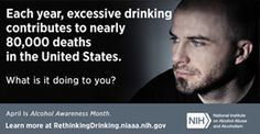 Each year, excessive drinking contributes to nearly deaths in the United States. Alcohol Facts, Alcohol Awareness, Red Ribbon Week, Seattle Washington, Liquor, Drinking, Death, United States, Wellness