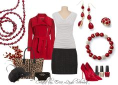 "NEW HOLIDAY LINE ""Scarlet"" necklace, ""Ruby"" earrings, ""Rouge"" bracelet, ""Cherrie"" ring. #MyPDStyle"