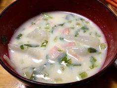 きのう何食べた?参照 - 4件のもぐもぐ - かぶの豆乳ミルクスープ by itomaki82