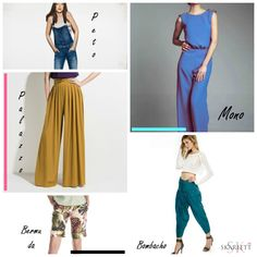 pantalones-collage-3 Michael Kors, Dory, Harem Pants, Collage, Content, Google, Fashion, Cargo Pants, Picture Layouts