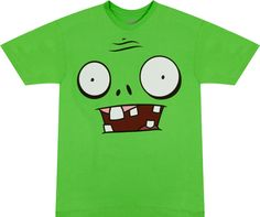 Zombie Face Plants Vs Zombies Shirt