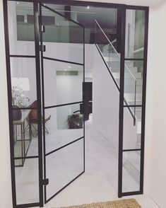 """Architect's Home in 🇫🇮 sanoo Instagramissa: """"Minkälainen näkymä teillä avautuu heti sisään tullessa? Tässä näkymä meidän pääovelta. Itse tykkään, että ensinäkymä kertoo kodin tyylistä…"""" Divider, Room, Furniture, Instagram, Home Decor, Bedroom, Decoration Home, Room Decor, Rooms"""
