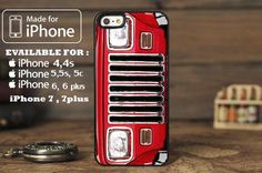 Jeep Wrangler YJ Grille 87-95 for iphone 6 case, iPhone 5 case, iPhone 7 case, iphone 4 case #jeep #jeeplife #iphone7 #iphone7case