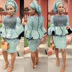 Stylish Ankara Styles Short Skirt And Top You Will Love To Try Out - DeZango Fashion Zone