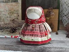 Мастер-класс: куколка-оберег «Девочка с конфеткой» | Ярмарка Мастеров - ручная работа, handmade
