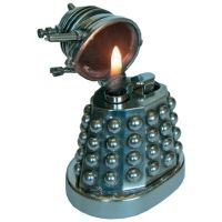 Doctor Who Dalek Pewter Table Lighter - Scificollector -Creators of the Torchwood Figures & Exclusive Doctor Who Merchandise