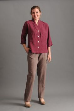 Enjoy all-day comfort in Sympatico's fitted Stovepipe Pants ($114) with tapered legs and elastic waist. They make a great basic shape beneath any top. Hand crafted in sustainable hemp Tencel that breathes beautifully. Ethical Clothing, Ethical Fashion, Slow Fashion, Sustainable Clothing, Save The Planet, Hemp, Sustainability, Alternative, Women Wear