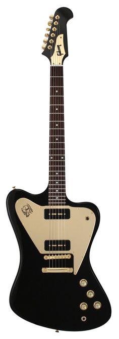Gibson Custom Shop Firebird Non Reverse Ebony 2 P90s One Off