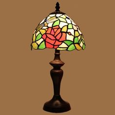 Tiffany Lamp for children with a bright floral design.