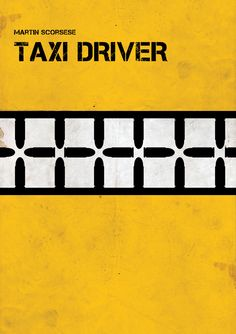 Taxi Driver (1976) ~ Minimal Movie Poster by Ivan Ivanov ~ Martin Scorsese Series #amusementphile