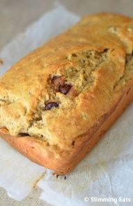 Low Syn Banana and Chocolate Chip Loaf Slimming World recipes, Chocolate Banana Bread Whisk Knife, Banana Loaf with Chocolate Time To Co. Slimming World Deserts, Slimming World Puddings, Slimming Eats, Slimming World Recipes, Low Calorie Recipes, Healthy Recipes, Easy Recipes, Healthy Snacks, Sweet Recipes